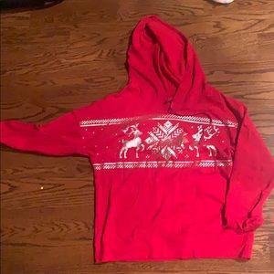 Lightweight cotton Christmas hoodie